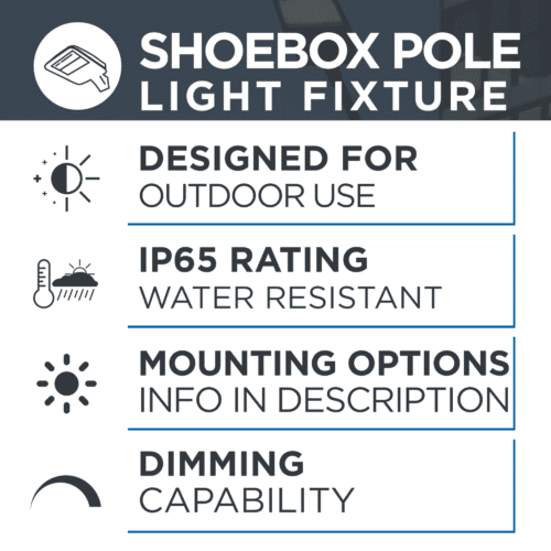 shoebox Pole Light